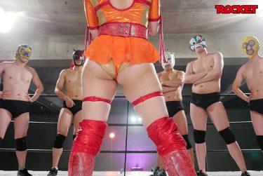 屈強でムチムチな巨尻爆乳プロレスラーがリングの上で屈辱の中出しで堕ちていくAV動画オススメ10選